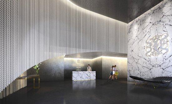 Chatswood, Australië: Silkari Suites Lobby