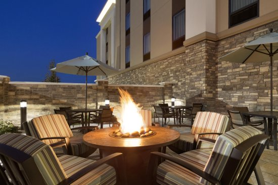 Niles, OH: Patio With Firepit