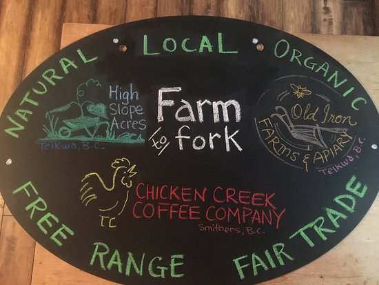 Trackside Cantina : Locally grown food makes a difference!