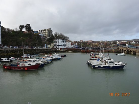 Folkestone Harbour Arm