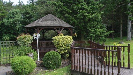 Gretna Green, UK: Gardens - Gretna Hall Hotel