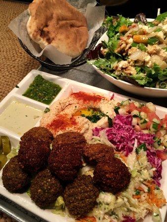 Photo of Mediterranean Restaurant Nish Nush at 88 Reade St, New York, NY 10013, United States