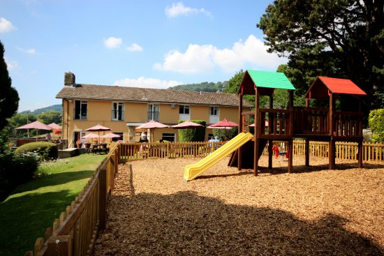 Abergavenny, UK: Play area