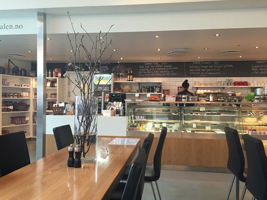 Sandnes, Norway: ordering and paying