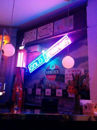 Nottinghamshire, UK: One part of the bar