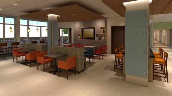 King George, فيرجينيا: lobby of hotel