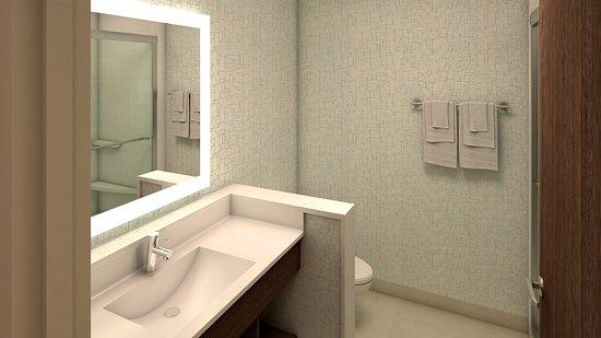 King George, فيرجينيا: guest bath room