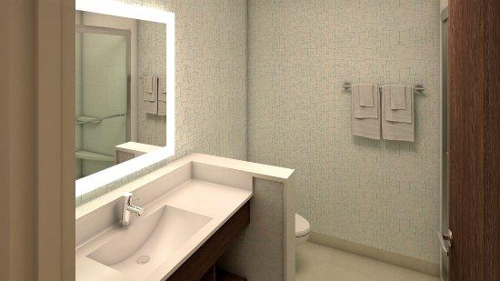 Van Horn, Teksas: Guest Bathroom