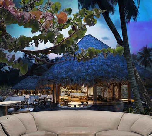 Conrad Bora Bora Nui: Tamure Beach Grill Exterior View