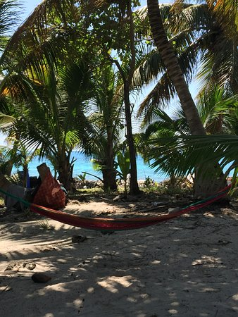 Placencia, Belize: Hammock to rest in.