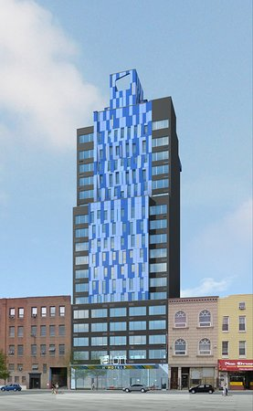 Long Island City, Nova York: Hotel Exterior Rendering
