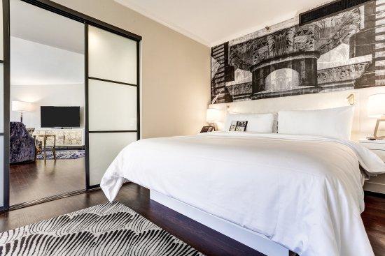 Avenue of the Arts Costa Mesa, a Tribute Portfolio Hotel: Executive Suite Bedroom