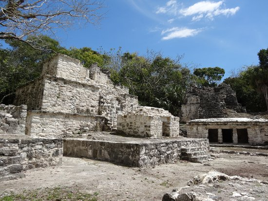Quintana Roo, Mexico: Ruins near the entrance