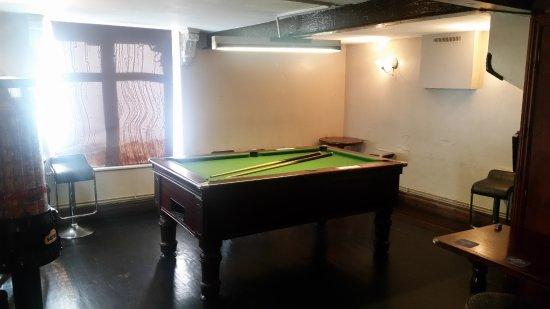 Macclesfield, UK: Pool table room