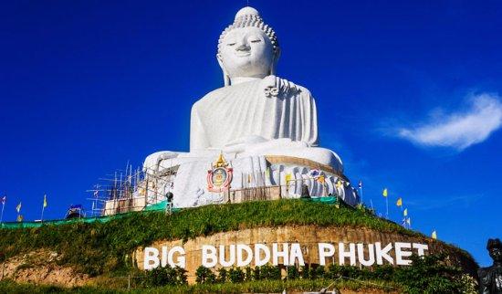 ฉลอง, ไทย: Big buddha, Wat Chalong,