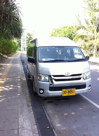 Chalong, Thailand: Private Minibus