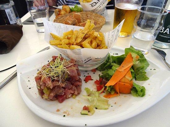 Ile d'Aix, Francia: Le tartare de thon