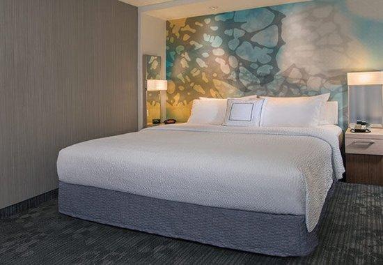 Ruston, LA: King Guest Room Sleeping Area