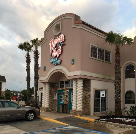 College Station, TX: Rosa's Exterior