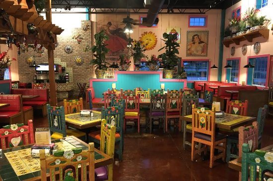 College Station, TX: Rosa's Interior