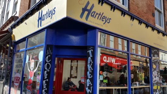 Hartleys Coffee & Sandwich Bar : Good menu