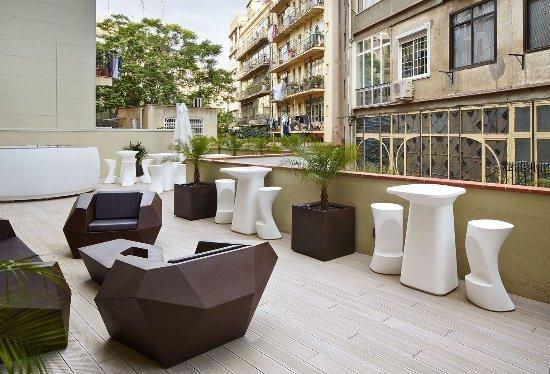 Vincci Gala Barcelona: Terrace