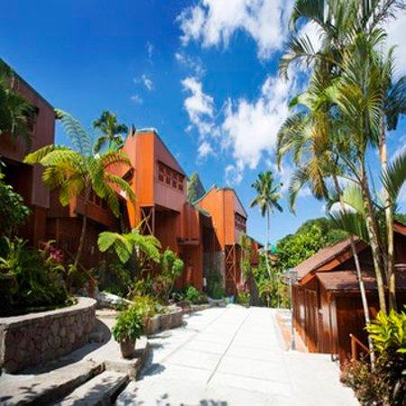 Ladera Resort: Ladera Courtyard