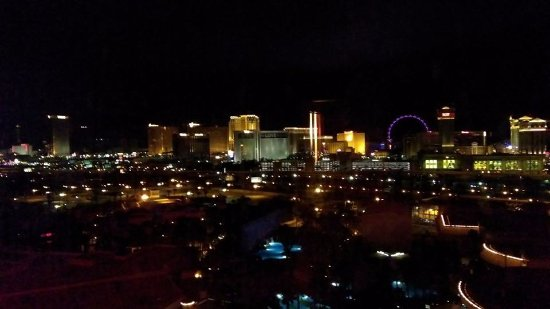 Rio All-Suite Hotel & Casino: View of the Strip from my room.