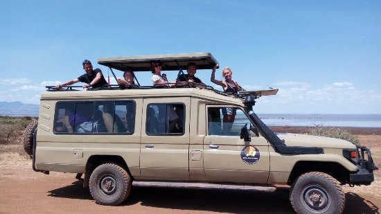 Arusha Region, Tanzania: Happy travelers