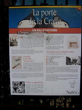 Porte de la craffe explicatif historique picture of la for Things to do in la porte