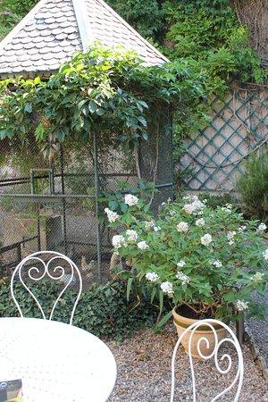 Bourbon-Lancy, Prancis: jardin