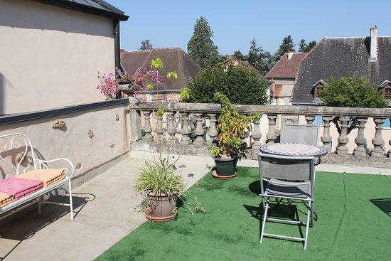Bourbon-Lancy, Prancis: terrasse