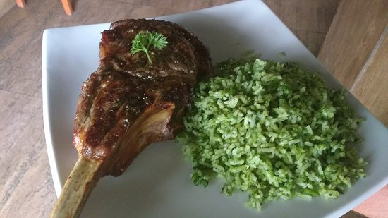 Hoje um almoço no capital steak house Taguatinga . Um ambiente de ótima qualidade e um bom atend