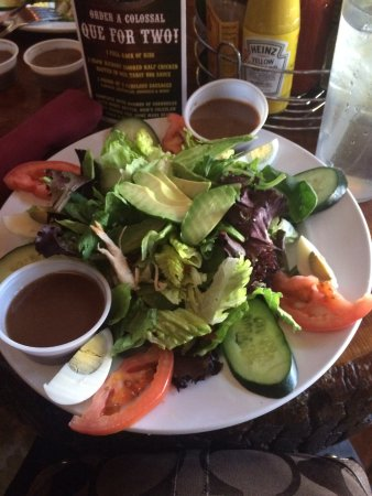 Carson City, NV: Cobb salad with creamy balsamic dressing.