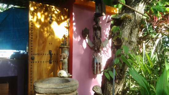 Tambor, Costa Rica: A part of the open air kitchen
