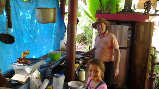 Tambor, Costa Rica: Pancace for breakfast