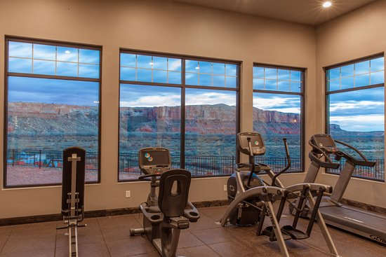 Bluff, UT: exercise room - gorgeous view!