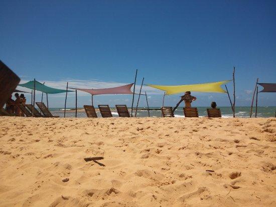 Caraiva, BA: tendas maravilhosas