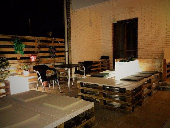 albergue puente iluminacin terraza - Iluminacion Terrazas