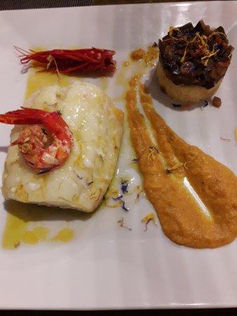 Monachil, إسبانيا: bacalao confitado