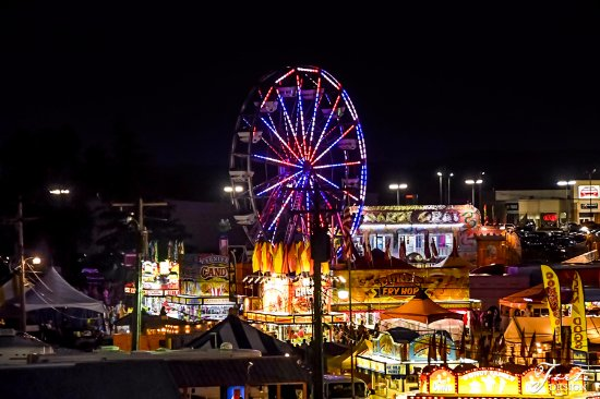 West Salem, WI: The Annual Fair runs in Mid-July on a Race Weekend
