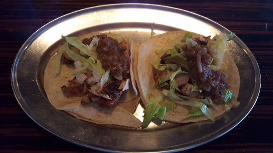 Webster, Teksas: Chicken tacos helped ease my hunger pangs