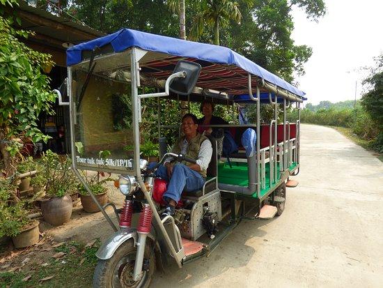 Luong Son, Vietnam: le tuck-tuck