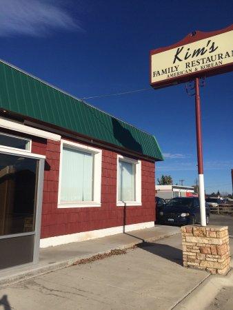 Sheridan, WY: Kim Family Restaurant