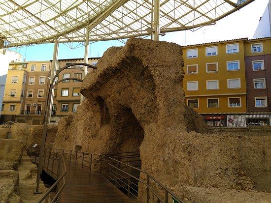 Museo del Teatro Romano de Caesaraugusta: Acceso.