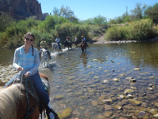 Mesa, AZ: The best way to see the outdoors is on the back of a horse