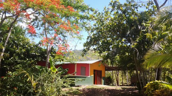 Tambor, Costa Rica: 2 bedroom bungalow with open air kitchen