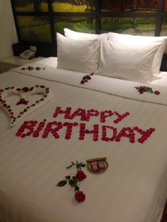 Hanoi La Selva Hotel Birthday Decorations