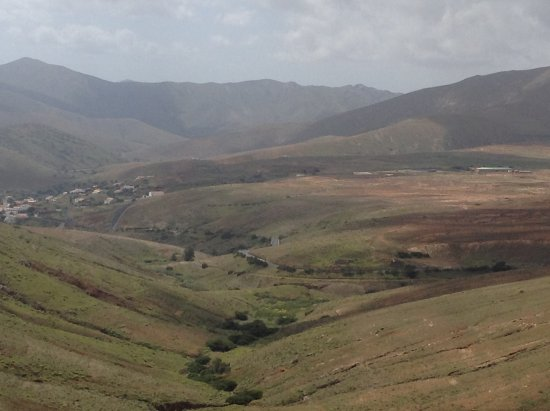 Betancuria, España: the view