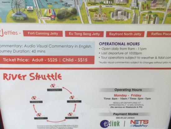 Singapore River Cruise: 新加坡河泊船介紹